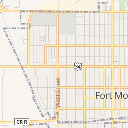 fort morgan colorado map