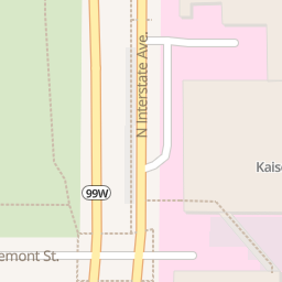 Kaiser Permanente Interstate Specialty Pharmacy   3550 N Interstate on portland highway map, carson city california map, kaiser east interstate portland, kaiser interstate campus map,