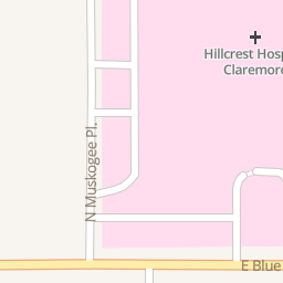 Hillcrest Hospital Claremore   1202 N Muskogee Pl, Claremore